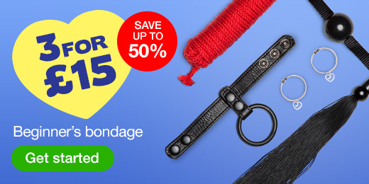 ^3 for 15 Beginners bondage save up to 50%