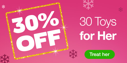 30% OFF 30 toys for her