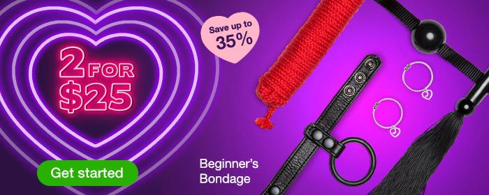 2 for $25 Beginner's Bondage