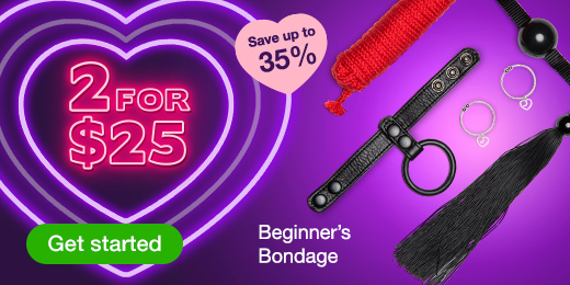 2 for $25 Beginner's Bondage