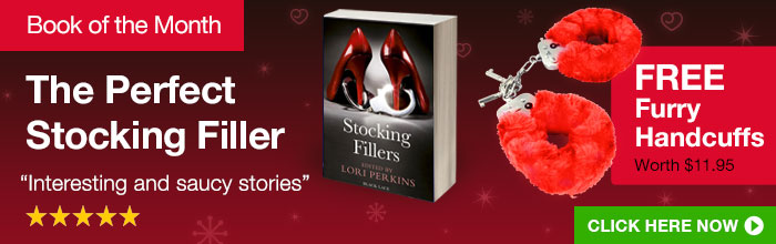 Free Handcuffs with Stocking Fillers Book of the Month