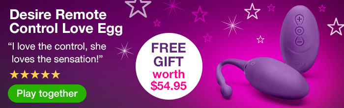 Desire Remote Control Love Egg with Free Gift