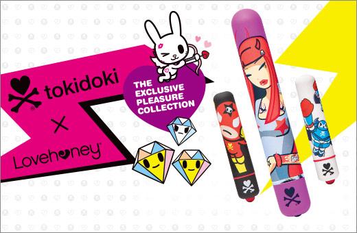 Tokidoki x Lovehoney Sex Toys