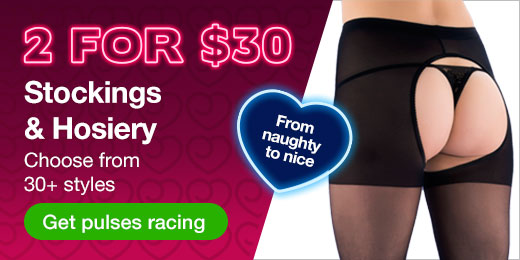 2 for $30 stockings and hosiery