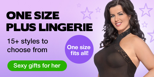 One Size Plus Lingerie - One Size Fits All!