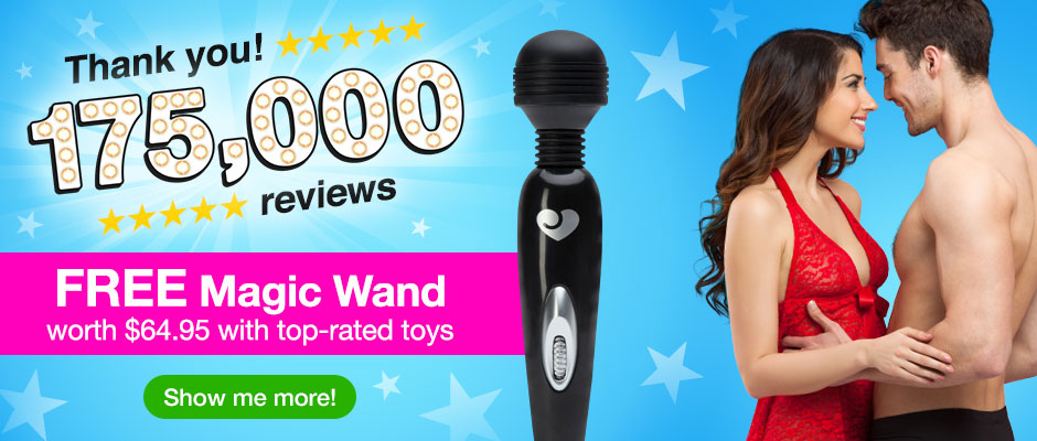 Top 50 Sex Toys and Lingerie with a FREE $29.95 Vibrator