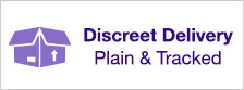 Discreet Delivery - Plain and Tracked