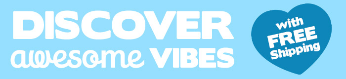 Discover awesome vibes with FREE Shipping