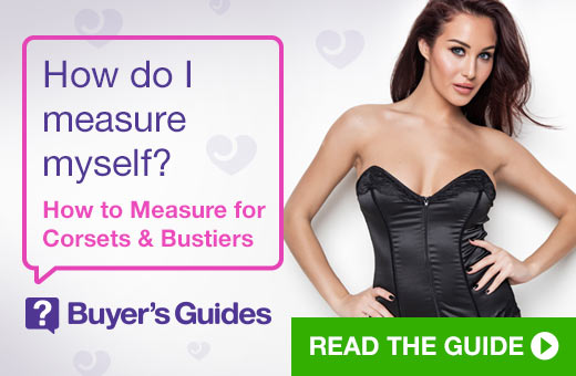 How do I measure myself? How to Measure for Corsets & Bustiers