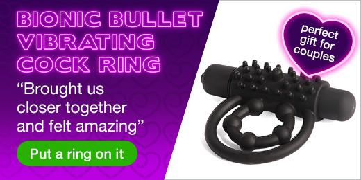 ^ Bionic Bullet Vibrating Cock Ring