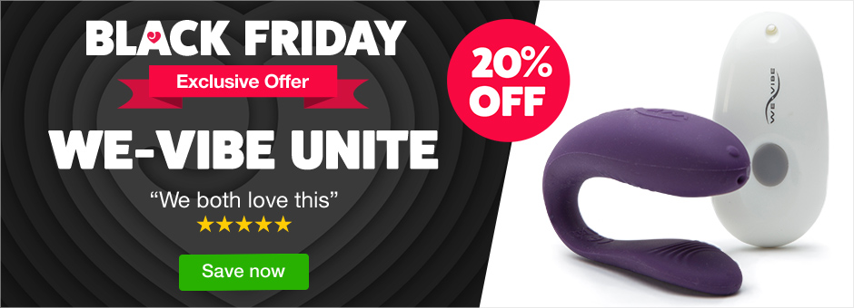 Black Friday Exclusive Offer - 20% off We-Vibe Unite