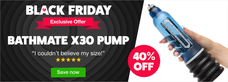 Black Friday Exclusive Offer - 40% off Bathmate X30
