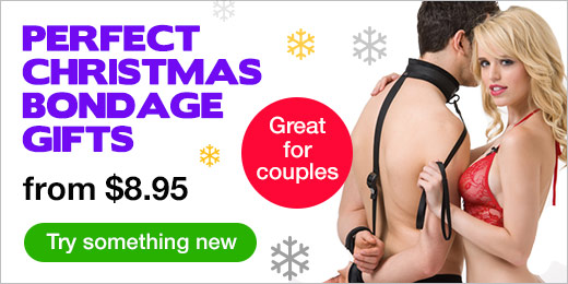 ^ Perfect Christmas Bondage Gifts from 8.95 CA