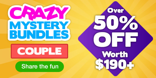 Crazy Mystery Bundles! Over 50% OFF