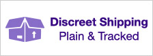 Discreet Shipping Plain and Tracked