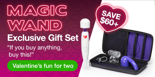 ^ Magic Wand Exclusive Gift Set