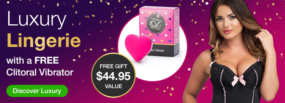 Luxury Lingerie with a FREE Clitoral Vibrator