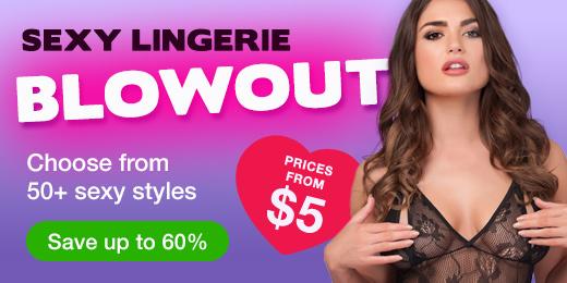 Sexy Lingerie Blowout Sale