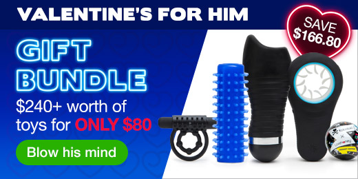 ^ Valentine's for Him Gift Bundle - SAVE $166.80