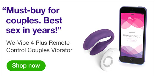 ^ We-Vibe 4 Plus Remote Control Couples Vibrator