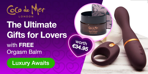 ^ Coco de Mer Luxury Sex Toy Gifts with FREE Orgasm Balm