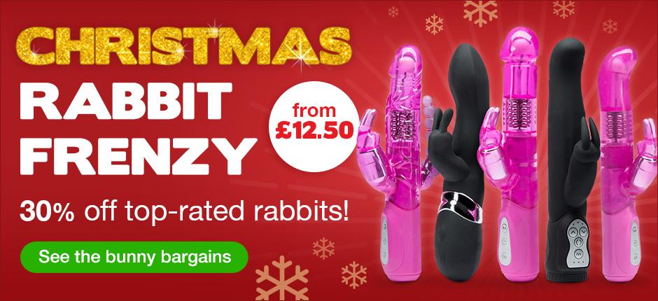 Christmas Rabbit Frenzy - 30% off!