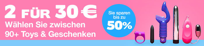 ^2 für 30 €  Wählen Sie zwischen 90+ Toys & Geschenken