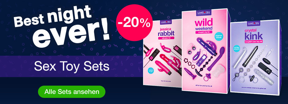 Best night ever! 20% OFF Sex Toy Kits