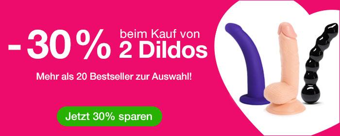 -30% beim Kauf von 2 Dildos