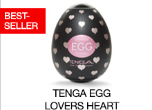 ^ Tenga Egg Lovers Heart Brand Page