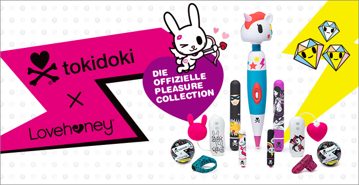 ^ tokidoki x Lovehoney Sex Toys - Die offizielle Pleasure Collection
