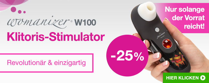 Womanizer W100 Klitoris-Stimulator - 25% Rabatt