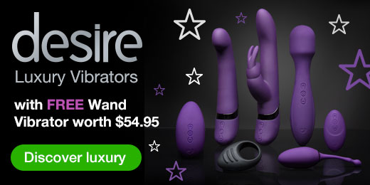 Desire Luxury Vibrators with Free Wand Vibrator