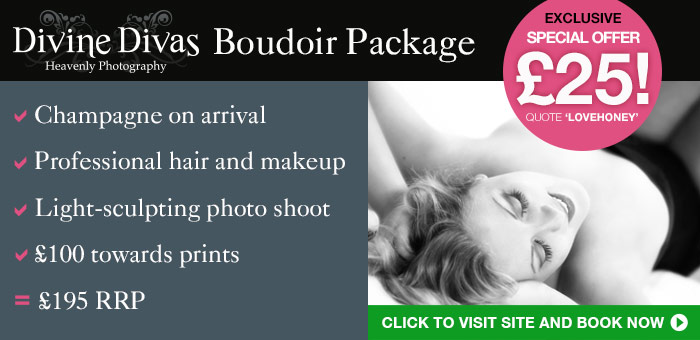 Divine Divas Boudoir Package only £25!