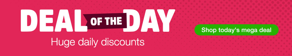 Deal of the Day - Huge Daily Discounts - Shop Today's Mega Deal!