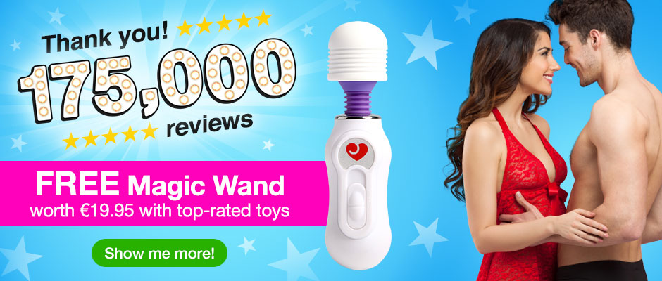 Thank you for 175,000 sex toy reviews!