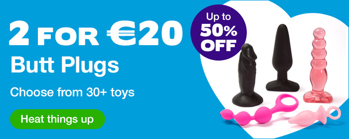 ^ 2 for €20 Butt Plugs - Up to 50% OFF