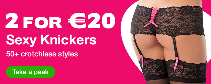 2 for €20 Sexy Knickers