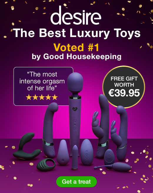 Desire Luxury Sex Toys with FREE Couple's Sex Toy Kit