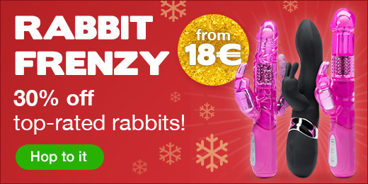 Up to 30% off top-rated rabbit vibrators