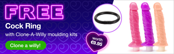 ^ FREE Cock Ring with Clone-A-Willy moulding kits