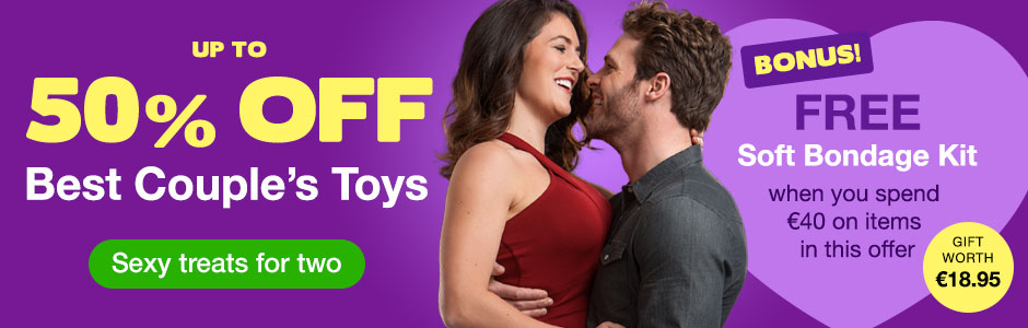 Best Couple's Sex Toys - Up to 50% OFF