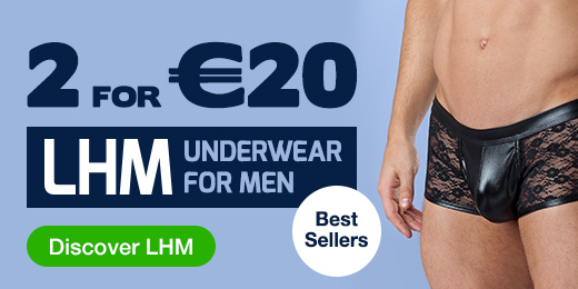 2 for €20 LHM Underwear for Men