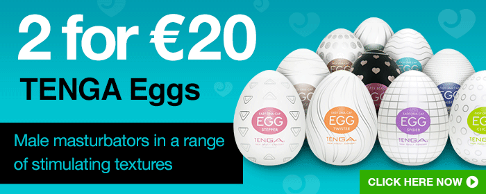 2 for €20 TENGA Eggs
