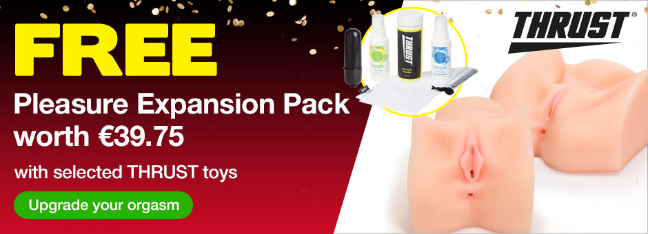 FREE Pleasure Expansion Pack with selected THRUST toys