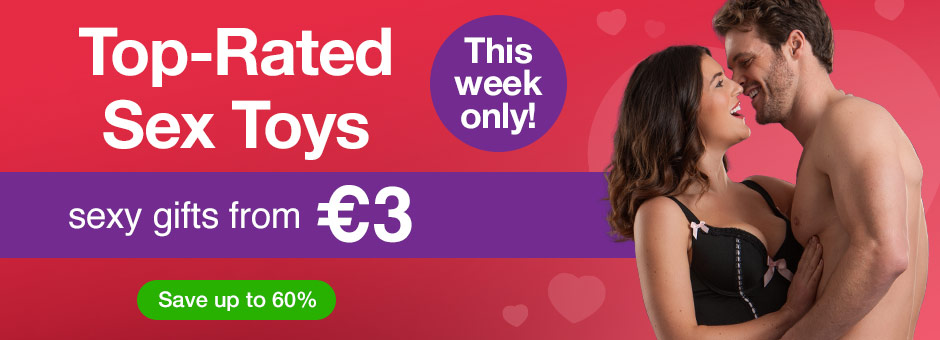 Deal of the Week: Sex Toys and Lingerie from €1!