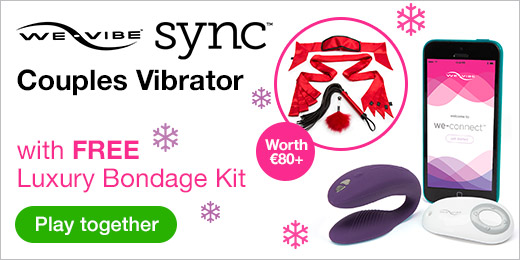 ^FREE Luxury Bondage Kit with We-Vibe Sync