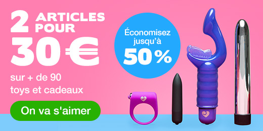 ^2 articles pour 30 € sur + de 90 toys et cadeaux