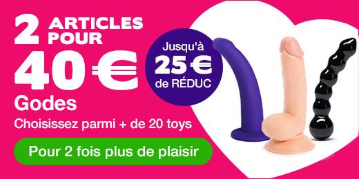 ^ 2 godes pour 40€ - jusqu'à 25€ de RÉDUC