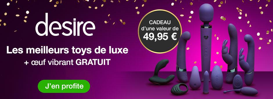 Desire Les meilleurs toys de luxe +oeuf vibrant GRATUIT